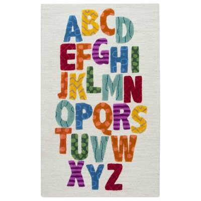 Ashlee Hand-Tufted Blue/Yellow Kids Rug