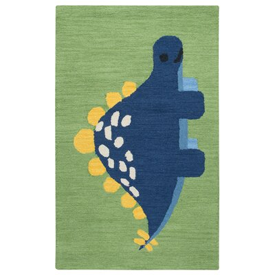 Ashlee Hand-Tufted Green/Blue Kids Rug