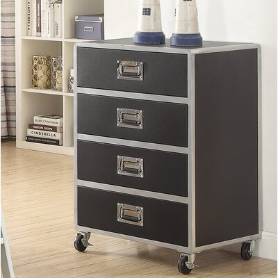 Roosevelt 4 Drawer Standard Chest