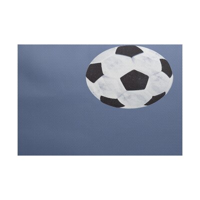 Bauer Blue Area Rug Rug Size: Rectangle 2 x 3