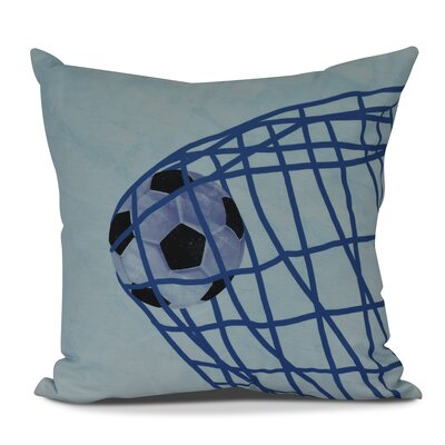Bauer Goal! Throw Pillow Size: 16 H x 16 W