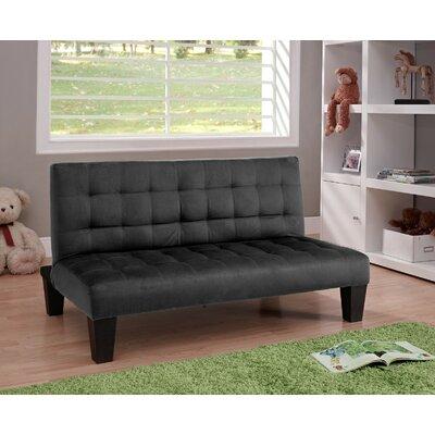 Harley Kids Sofa Upholstery: Black VVRO1225 26057271