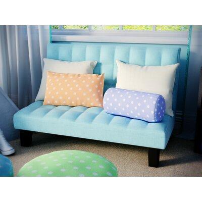 Harley Kids Sofa Upholstery: Teal VVRO1225 26057272