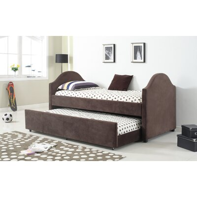 Imani Twin Captain Bed Color: Cappuccino