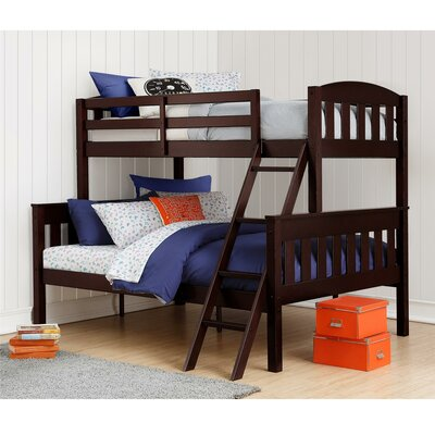 Suzanne Twin over Full Bunk Bed Finish: Espresso