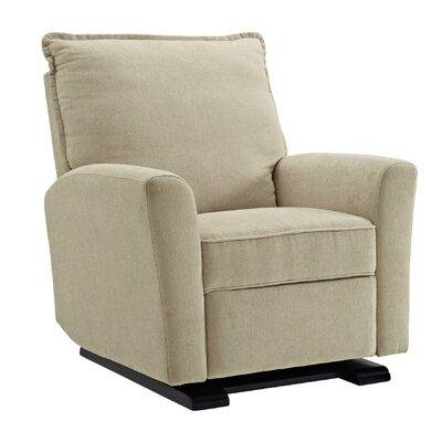 Suzette Manual Rocker Recliner Upholstery Color: Beige