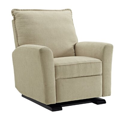 Suzette Gliding Recliner Upholstery Color: Beige