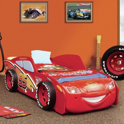 Lightning McQueen Twin Bed
