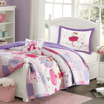 Brooke Twirling Tutu Quilt Set Size: Full / Queen