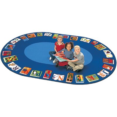Camila Reading by the Book Kids Area Rug Rug Size: 84 x 134