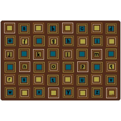 Camila Squares Kids Rug Rug Size: Rectangle 8 x 12