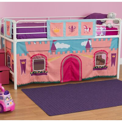 Catalina Princess Castle Curtain Set for Junior Loft Bed