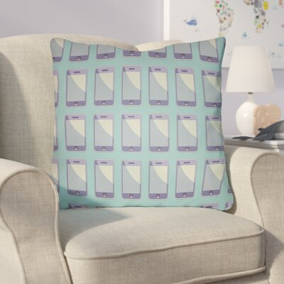 Cassidy Geometric Throw Pillow Size: 22 H �x 22 W x 5 D, Color: Mint