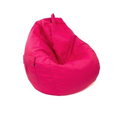 Jack Tear Drop Safari Bean Bag Lounger Color: Pink