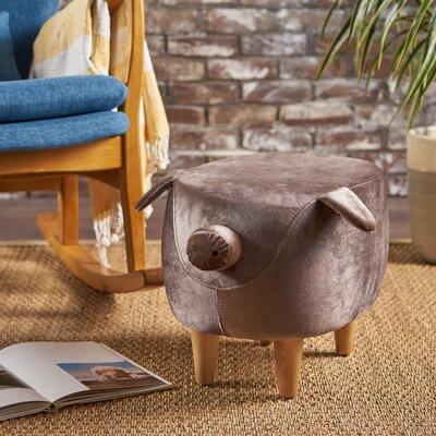 Esmond Pig Ottoman Upholstery: Dark Taupe