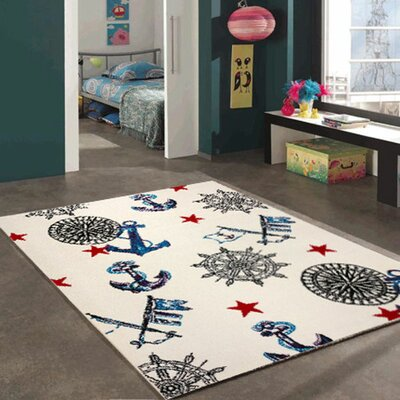 Jamison Bedroom Decor Area Rug Rug Size: 311 x 53