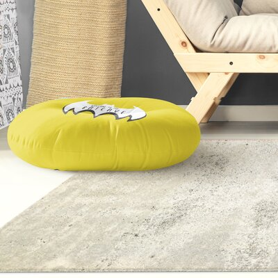 Aletha Welcome To The Bat Cave Outdoor Floor Pillow Size: 26 x 26