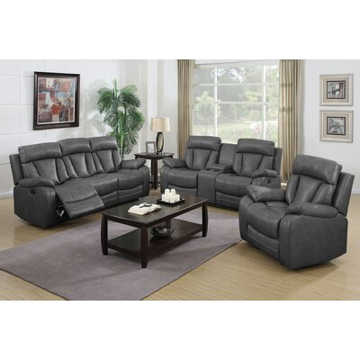 Benjamin 3 Piece Living Room Set