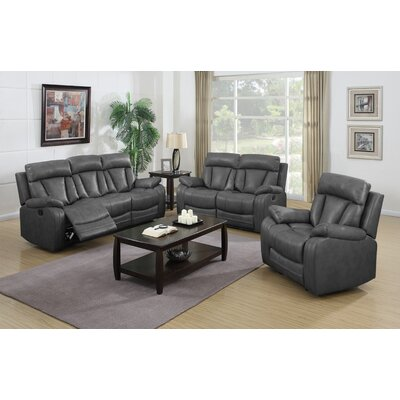 Benjamin 3 Piece Motion Sofa Set