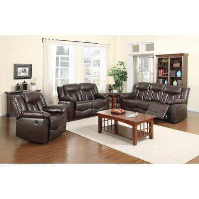 James 3 Piece Motion Sofa Set