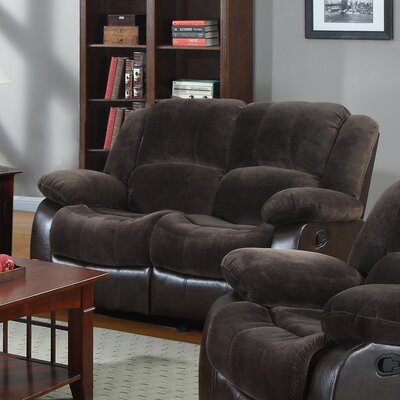 Aiden Motion Leather Loveseat