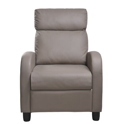 Anabelle Push Back Recliner Upholstery: Gray