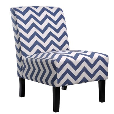 Katherine Slipper Chair Upholstery: Blue