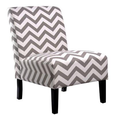 Katherine Slipper Chair Upholstery: Gray