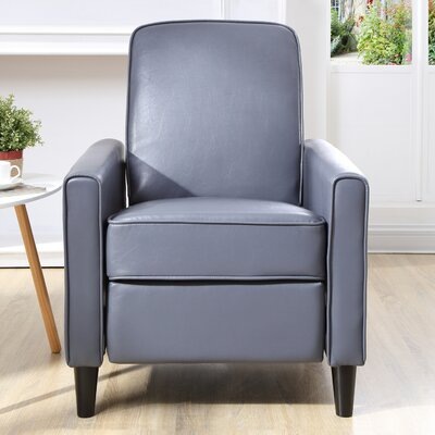 Ardith Push Back Recliner Upholstery: Gray