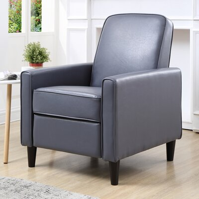 Ardith Manual Recliner Upholstery: Gray