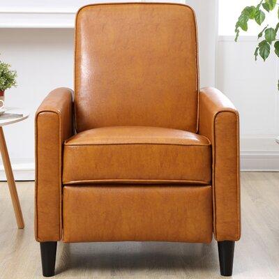 Ardith Push Back Recliner Upholstery: Mocha