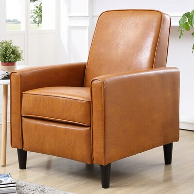 Ardith Manual Recliner Upholstery: Mocha