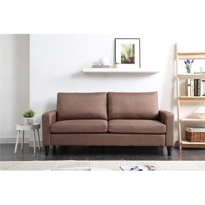 Crews Standard Sofa Upholstery: Brown