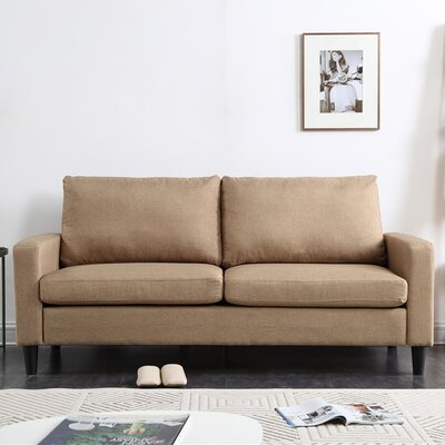 Crews Arm Sofa Upholstery: Mocha