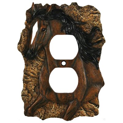 Horse Receptacle Cover