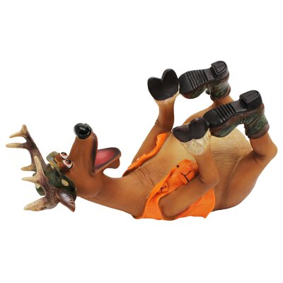 Deer 1 Bottle Tabletop Wine Rack