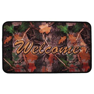 Welcome Camouflage Doormat