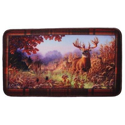 Deer Scene Doormat