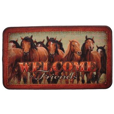 Horses Doormat