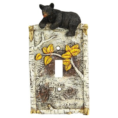 Birch Bear Single Switch Cover