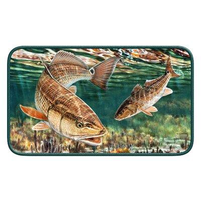 Redfish Door Mat