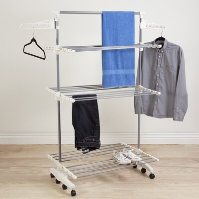 3 Tier Rolling Drying Rack 82-CRTR29