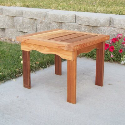 T&L Side Table Finish: Cedar Stain