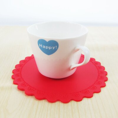 Silicon Cup Mat K-21RED