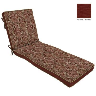 Outdoor Reversible Chaise Cushion 9749 Item Image