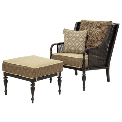 Sherborne Armchair and Ottoman