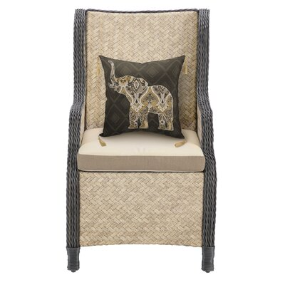 Hanalei Arm Chair Fabric: Brown