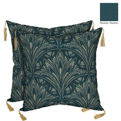 Royal Zanzibar Reversible Outdoor Throw Pillow