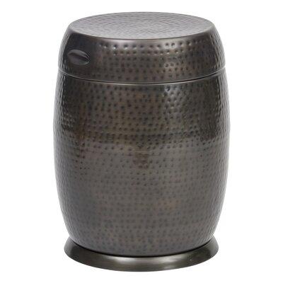 Madras Drum End Table Color: Bronze