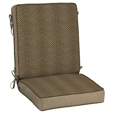 Zebra Snap Dry� Outdoor Lounge Chair Cushion